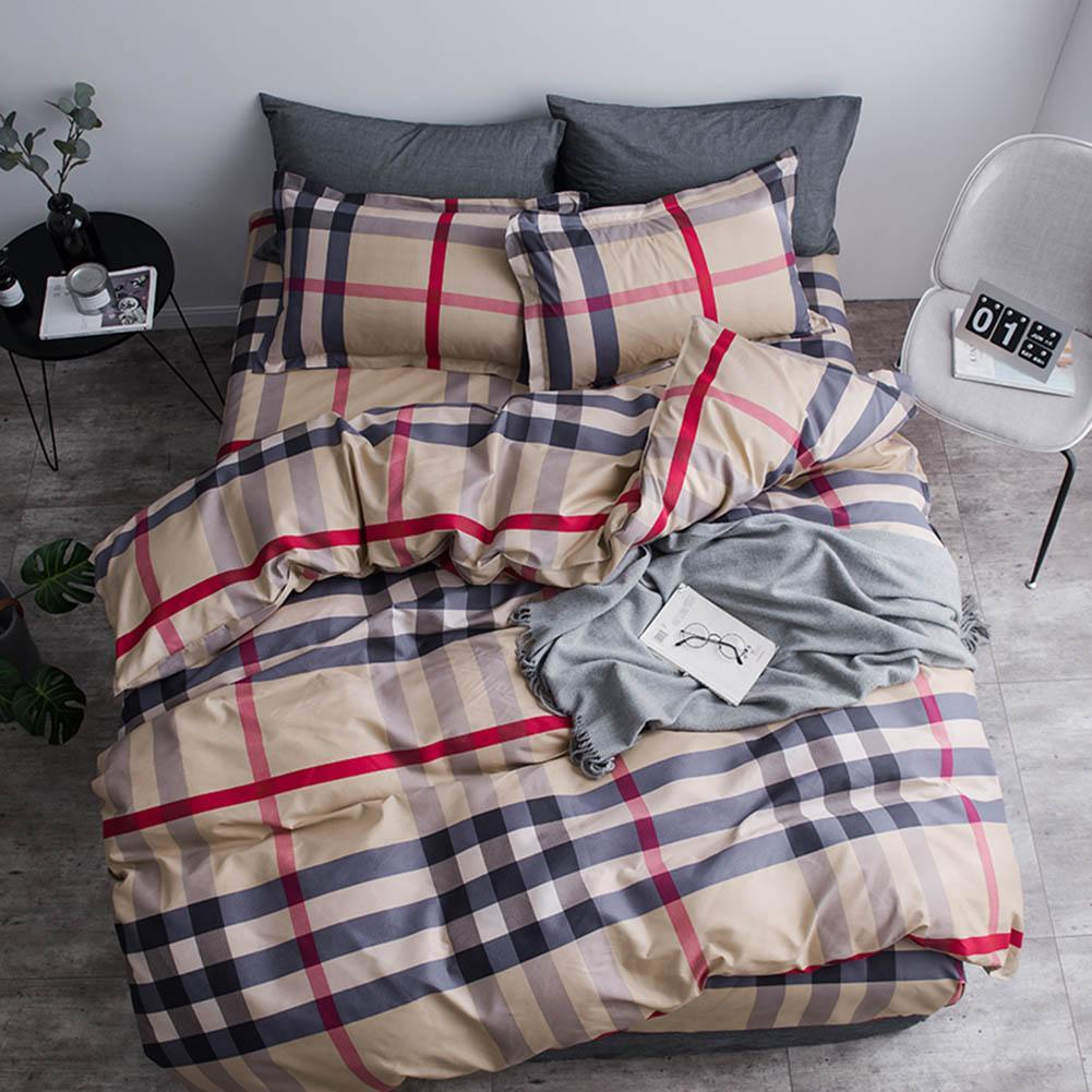 Tartan Plaid Bedding Set